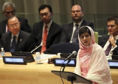 Mala Yousafzai Addresses the United Nations General Assembly