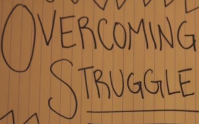Overcoming Struggles video by Shadi Garman and Natasha Javed